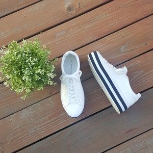 Zara Basic Collection Platform Sneakers